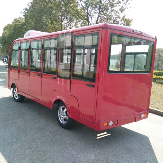 electric enclosed bus