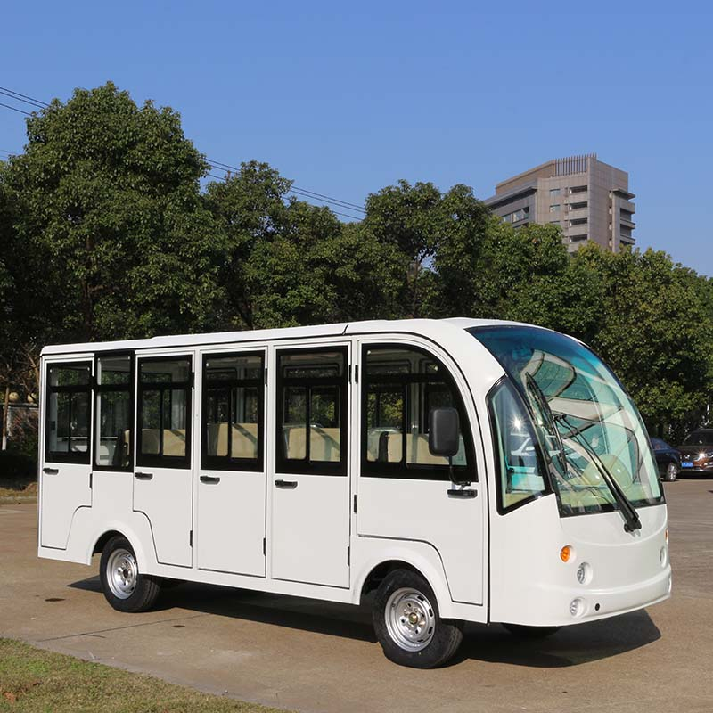 electric enclosed sightseeing bus