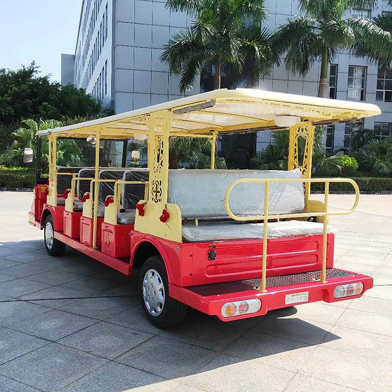 electric airport shuttle bus