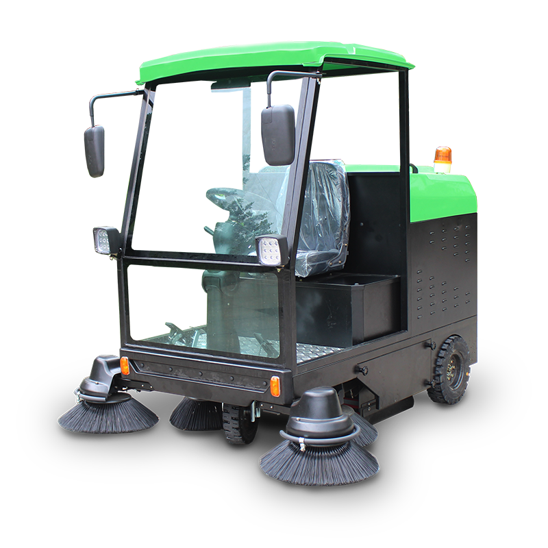 Industrial Electric Floor Sweeper