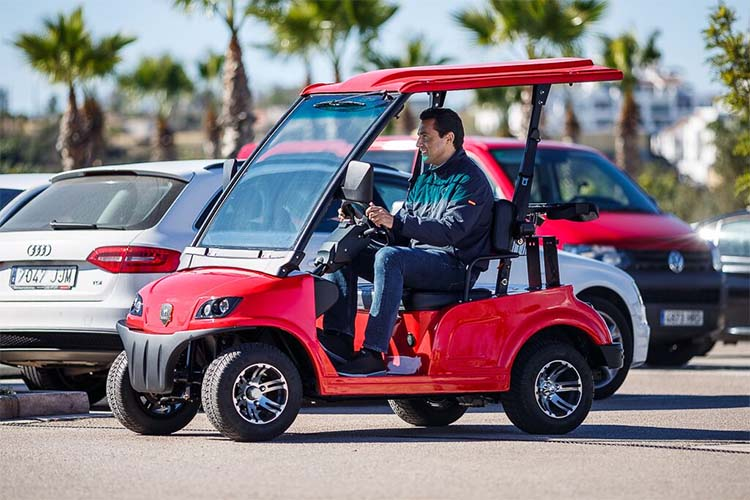 Low Speed Vehicles >> Marshell Electric Low Speed Vehicle Dg Lsv2 In Spainmarshell